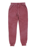 Girls Pomegranite Burnout Fleece Varsity Pant 2