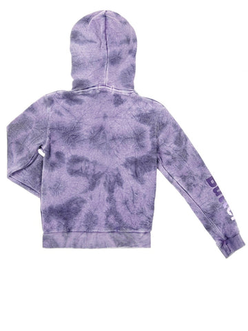 Girls Purple Solid Supernova Hoodie