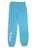 Girls Scuba Blue Burnout Fleece Varsity Pant