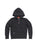 Kids Black Mineral Wash Fleece Zip Hoodie 2 Alternate View