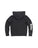 Kids Black Mineral Wash Fleece Zip Hoodie
