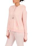 Womens Bashful Pullover Hoodie with High Side Slits 4