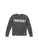 Womens Black Rocker Mineral Wash Fleece Pullover 2 Alternate View