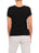 Womens Black Scoop Neck T-Shirt 2 Alternate View
