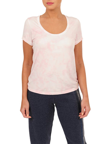 Womens Cotton Candy Scoop Neck T-Shirt