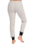 Womens Dove Grey Dip-Dye Basic Jogger 2