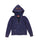 Womens Eclipse NYC Mineral Wash Fleece Lace-Up Pullover 2 Alternate View
