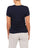 Womens Indigo Scoop Neck T-Shirt 2 Alternate View