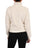 Womens Marshmallow Cropped Sherpa Bomber Jacket 2 Alternate View