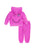 Womens Paradise Pink Dreamer Fleece Zip Hoodie Set