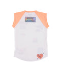 Womens Peach Nectar Happy Camper S/S Jersey Tee 2