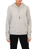 Womens Pebble Grey Open Back Sweatshirt