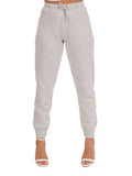 Womens Pebble Grey Basic Jogger