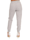 Womens Pebble Grey Basic Jogger 4