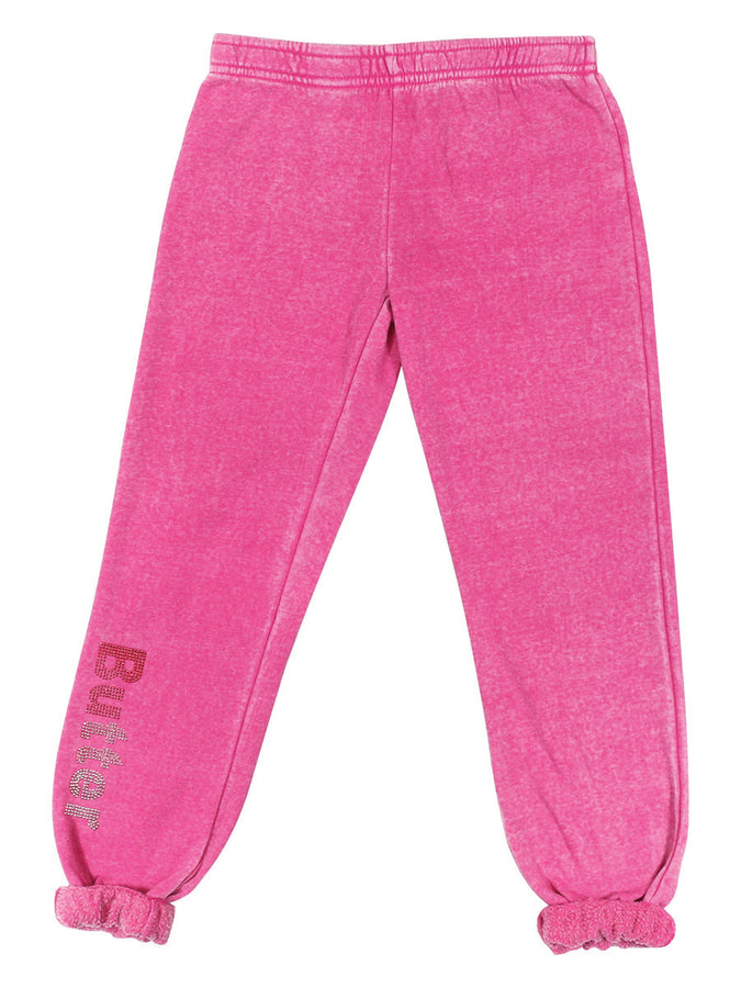 Womens Pink The Athlete Varsity Burnout Pant