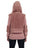 Womens Twilight Mauve Hooded Sherpa Vest 2 Alternate View