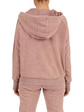 Womens Twilight Mauve Blinged Out Pullover Hoodie 2