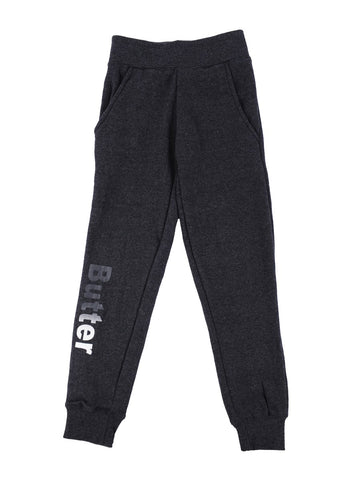 Womens Charcoal Kids Solid Skinny Pant