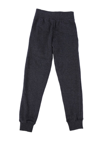 Womens Charcoal Kids Solid Skinny Pant 4 Alternate View