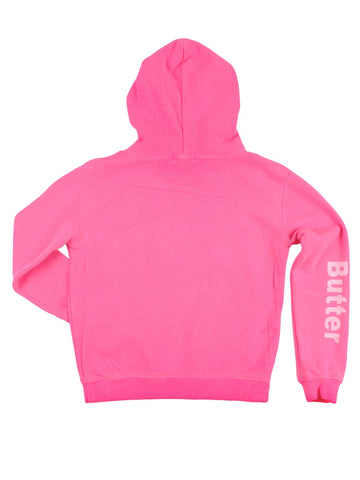 Womens Pink Kids Oil Wash Dreamcatcher Pullover Hoody 4 Alternate View