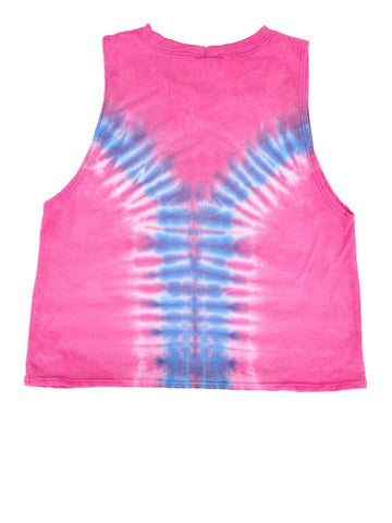 Womens Pink Kids Yum Hendrix Muscle Tee 4 Alternate View