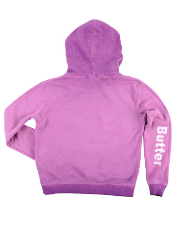 Womens Purple Kids Oil Wash Star Moon Sun Pullover Hoody 4 Alternate View