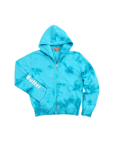 Womens Turquoise Kids Storm Wash Hippie Chick Hoody 2 Alternate View