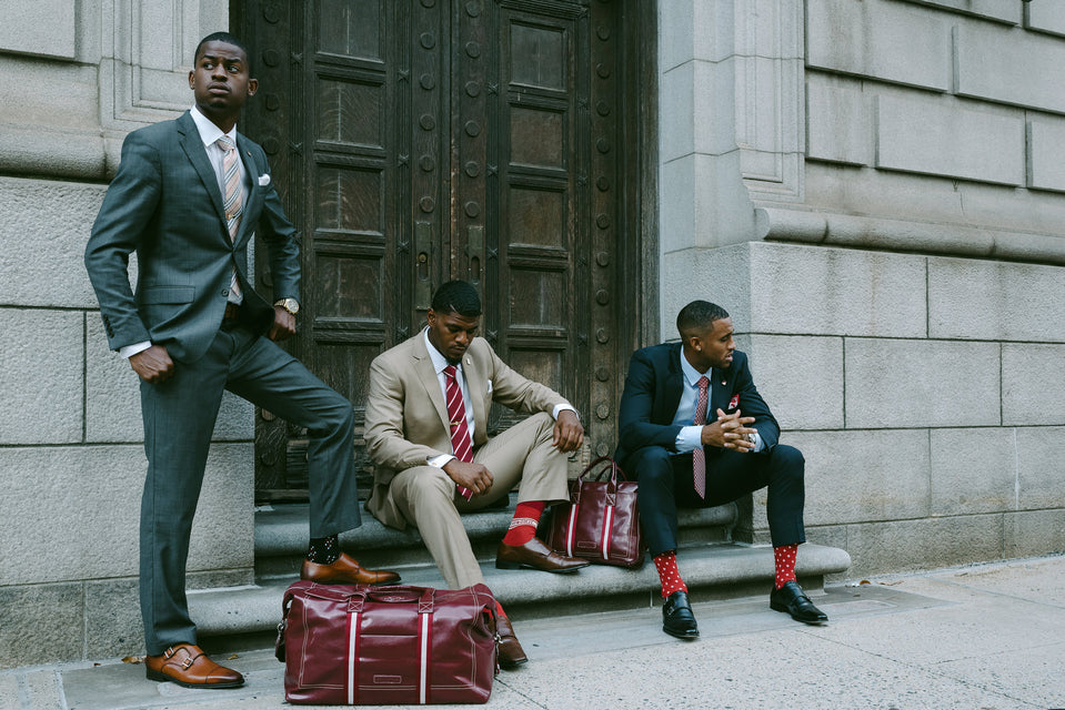 Kappa Alpha Psi Signature Stripe Bag Collection