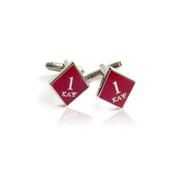 Kappa Alpha Psi Ace Klub Diamond Cufflinks