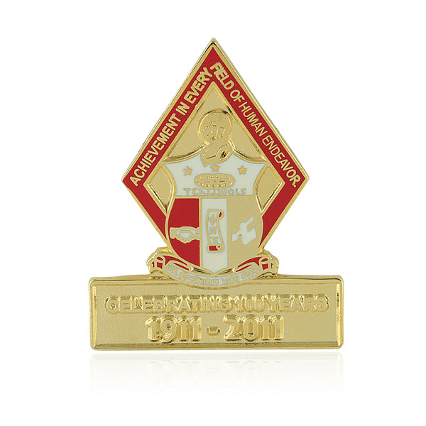 Kappa Alpha Psi Centennial Diamond Lapel Pin