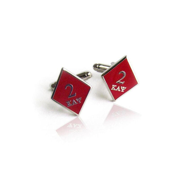 Kappa Alpha Psi Deuce Klub Diamond Cufflinks