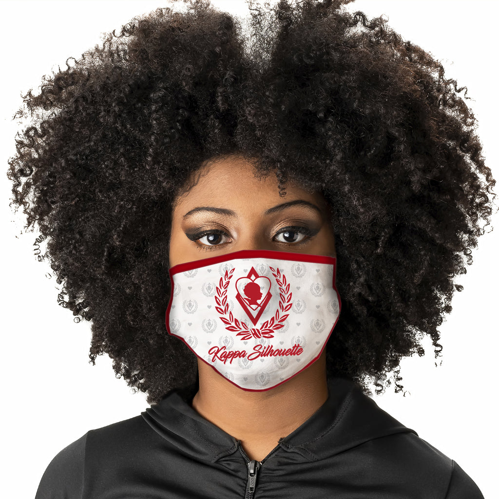 Kappa Alpha Psi Silhouette Face Covering