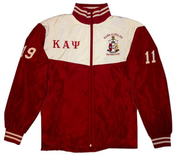 Kappa Alpha Psi Windbreaker Track Jacket Nupemall