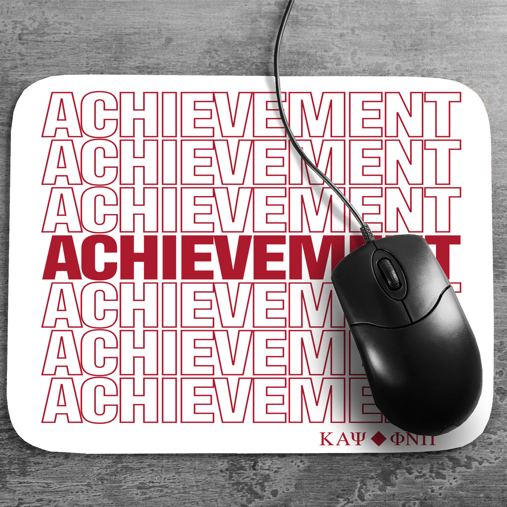 Kappa Alpha Psi Achievement Mousepad