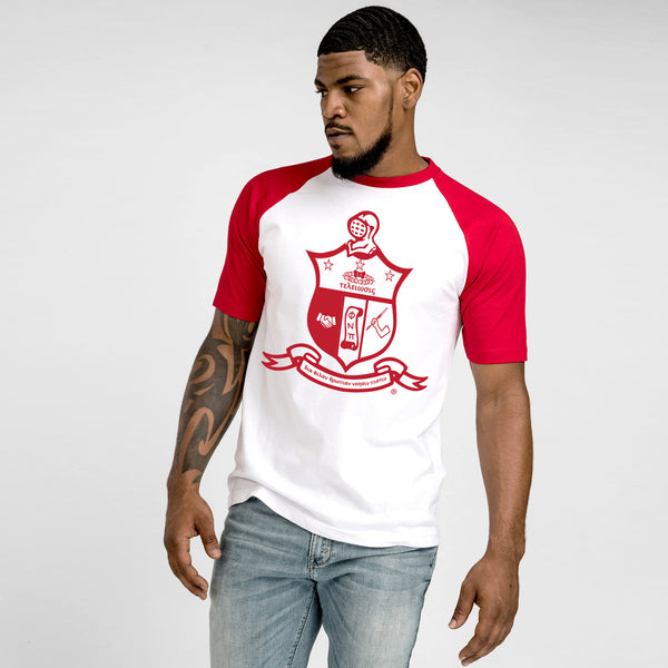 Kappa Alpha Psi Coat of Arms Baseball Tee