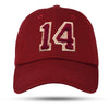 Kappa Alpha Psi Chenille Fourteen #14 Klub Dad Cap