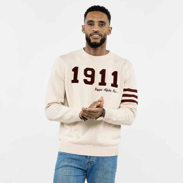 Kappa Alpha Psi Collegiate 1911 Sweater (Cream)