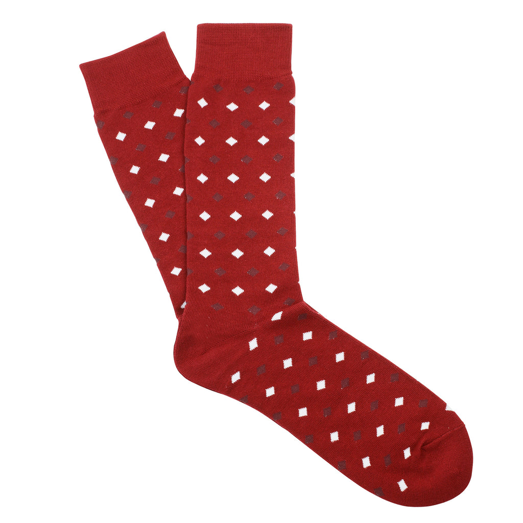 Kappa Alpha Psi Diamond Print Socks