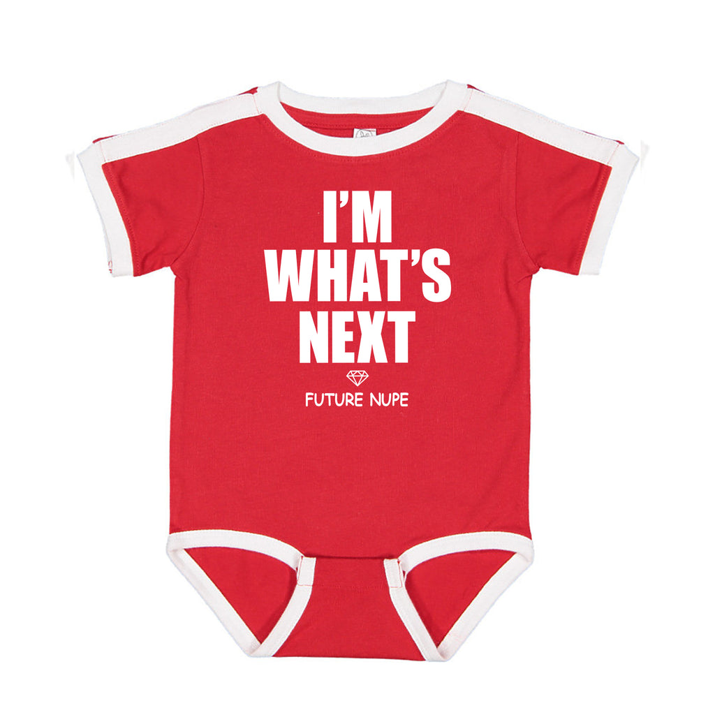 Kappa Alpha Psi I'm What's Next Future Nupe Ringer Tee