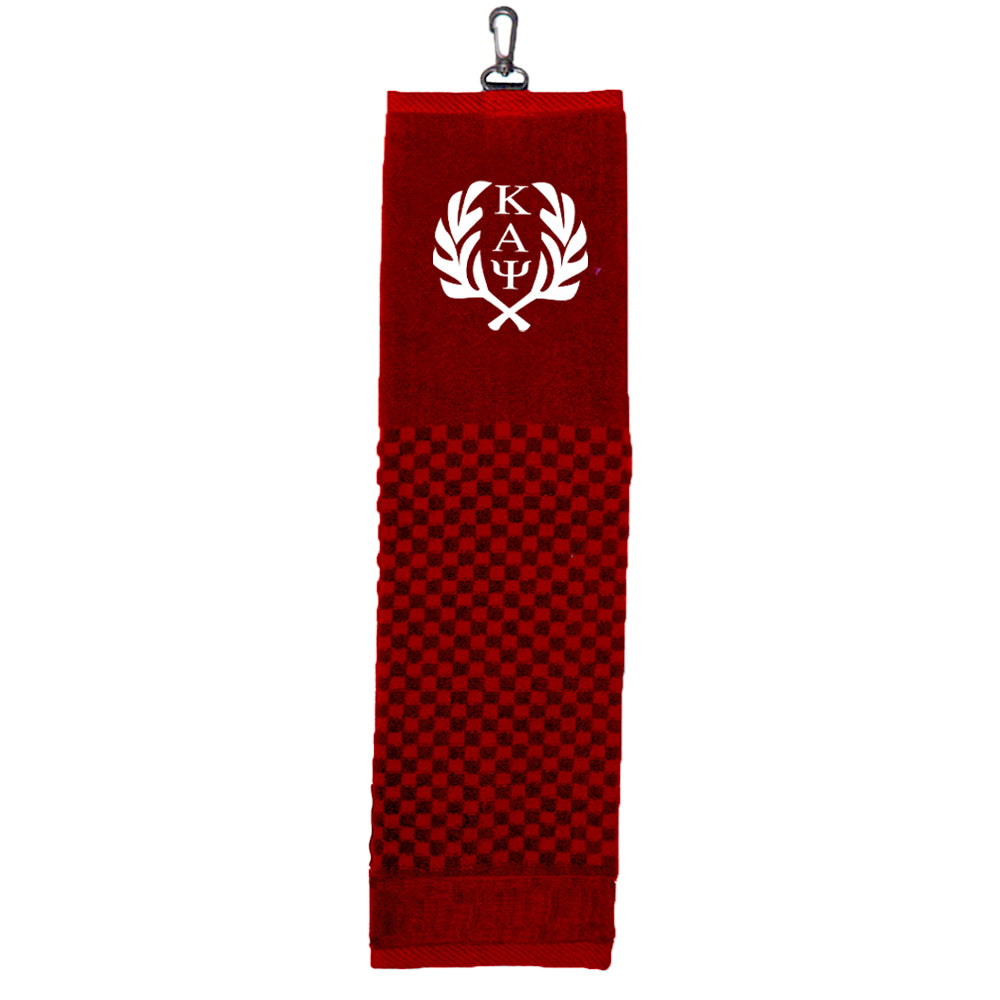 Kappa Alpha Psi Scrubber Golf Towel