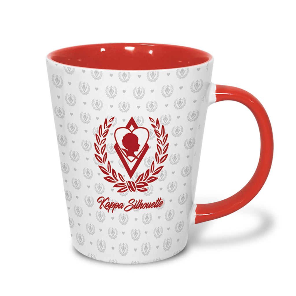 Kappa Alpha Psi Silhouette Coffee Mug