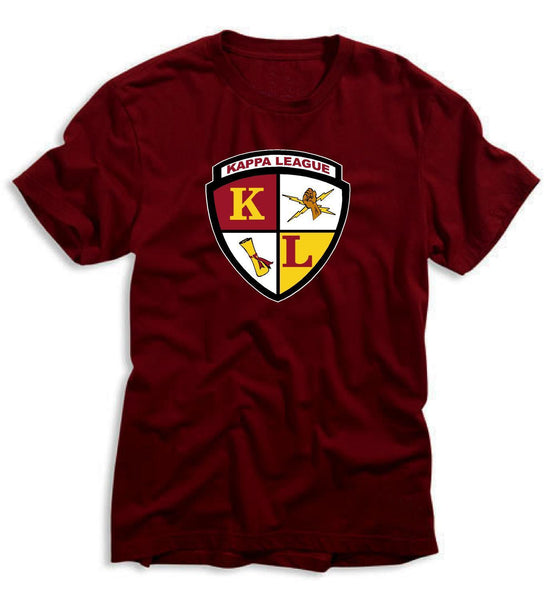 Kappa League Crest Tee (Maroon)