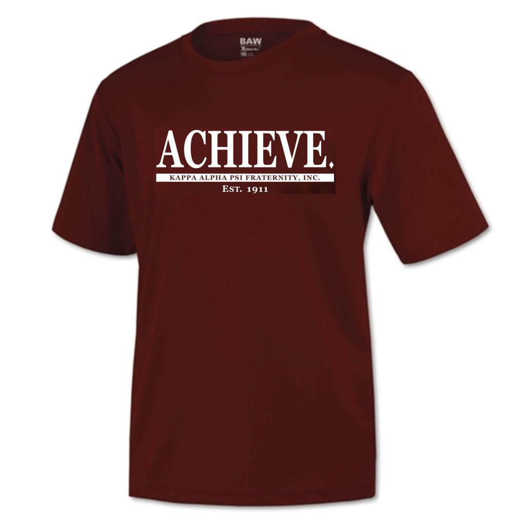Kappa Alpha Psi  Achieve DriFit Short Sleeve Shirt