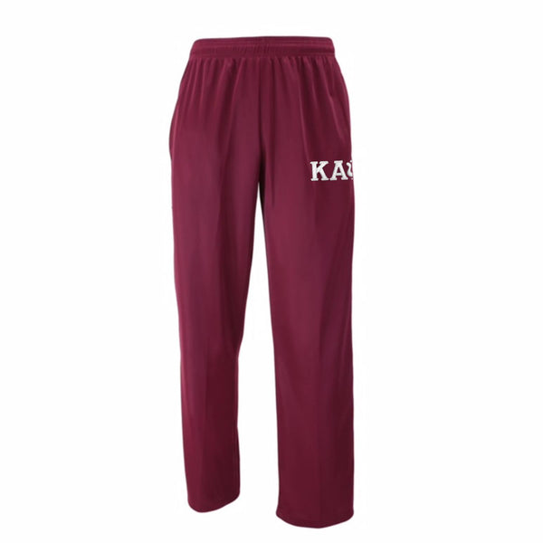 Kappa Alpha Psi Greek Letter Track Pants (Krimson)