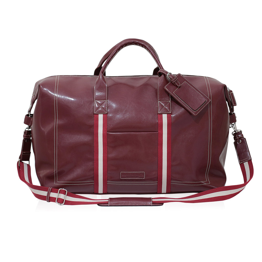 Kappa Alpha Psi Signature Stripe Duffle Bag