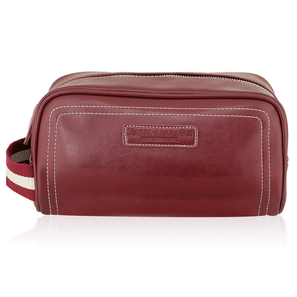 Kappa Alpha Psi Signature Stripe Toiletry Bag