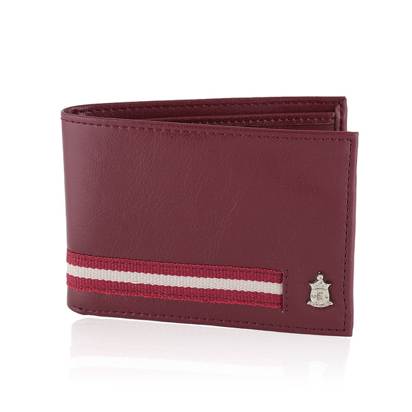 Kappa Alpha Psi Signature Stripe Wallet