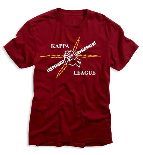 Kappa League Logo Tee (Maroon)