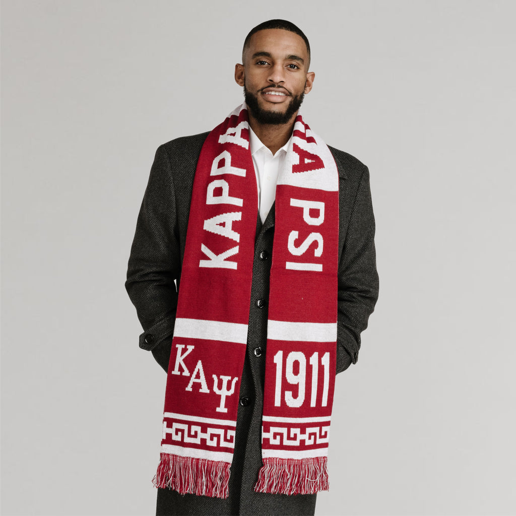 Kappa Alpha Psi 1911 Knit Scarf