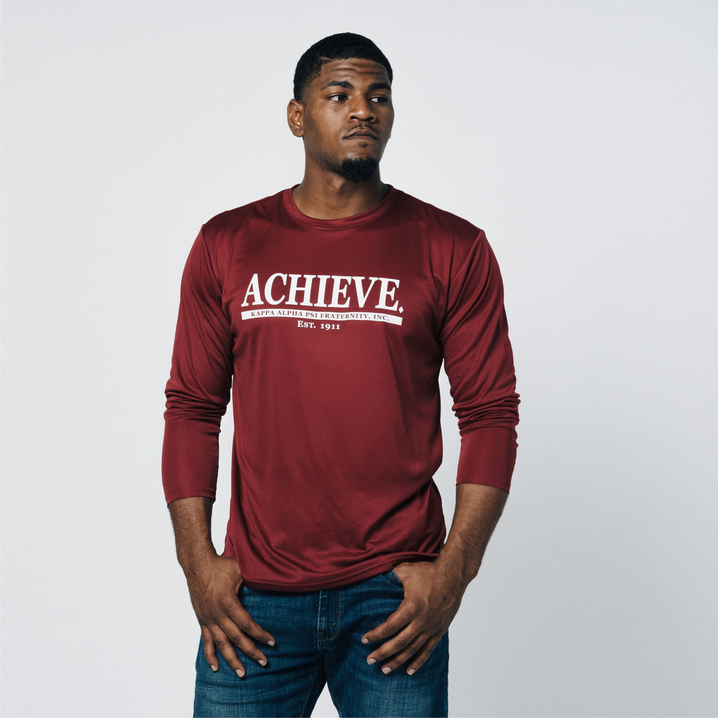 Kappa Alpha Psi Achieve DriFit Long Sleeve Shirt